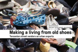 Omslag - Making a Living from Old Shoes: Tanzanian Street Vendors as Urban Experts
