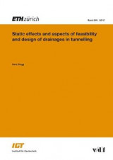 Omslag - Static Effects and Aspects of Feasibility and Design of Drainages in Tunnelling