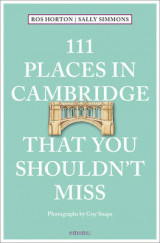 Omslag - 111 Places in Cambridge That You Shouldn't Miss