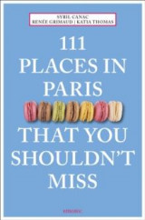 Omslag - 111 places in Paris that you shouldn't miss