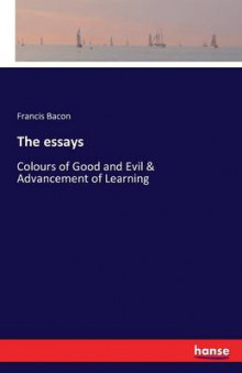 The Essays av Francis Bacon (Heftet)