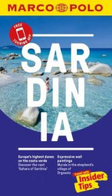 Omslag - Sardinia Marco Polo Pocket Travel Guide 2018 - with pull out map