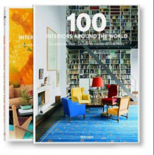 100 interiors around the world (Innbundet)