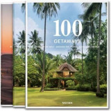 Omslag - 100 getaways around the world