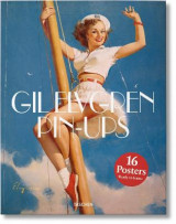 Omslag - Gil Elvgren pin-ups print set. 16 prints in a box