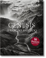 Omslag - Salgado Genesis print set. 16 prints in a box