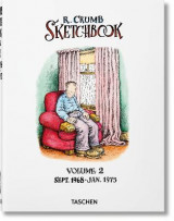 Omslag - Robert Crumb: Sketchbook, Vol. 2: Sept. 1968-Jan. 1975