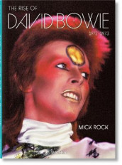 Mick Rock. The Rise of David Bowie, 1972-1973 av Barney Hoskyns og Mick Rock (Innbundet)