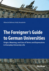 Omslag - The Foreigner's Guide to German Universities