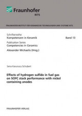 Omslag - Effects of Hydrogen Sulfide in Fuel Gas on SOFC Stack Performance with Nickel Containing Anodes