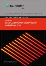 Omslag - Ion Implantation for High-Efficiency Silicon Solar Cells.