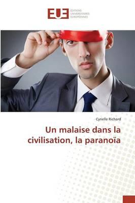 Un Malaise Dans La Civilisation, La Parano a av Richard-C (Heftet ...