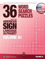 Omslag - 36 Word Search Puzzles with the American Sign Language Alphabet, Volume 01