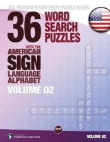 Omslag - 36 Word Search Puzzles with the American Sign Language Alphabet, Volume 02