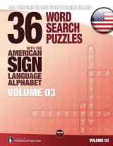Omslag - 36 Word Search Puzzles with the American Sign Language Alphabet - Volume 03
