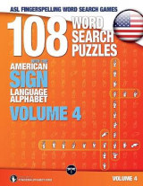 Omslag - 108 Word Search Puzzles with the American Sign Language Alphabet, Volume 04 (Bundle Volumes 01+02+03)