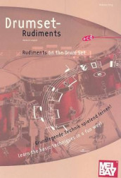 Drumset Rudiments/Rudiments on the Drum Set av Andreas Berg (Blandet mediaprodukt)