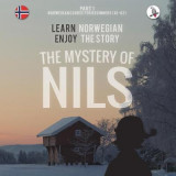 Omslag - The Mystery of Nils. Part 1 - Norwegian Course for Beginners. Learn Norwegian - Enjoy the Story.