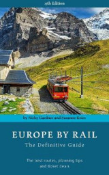 Omslag - Europe by Rail