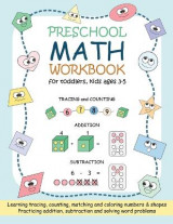Omslag - Preschool Math Workbook for Toddlers, Kids Ages 3-5