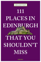 Omslag - 111 Places in Edinburgh That You Must Not Miss