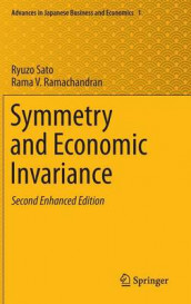 Symmetry and Economic Invariance av Rama V. Ramachandran og Ryuzo Sato (Innbundet)
