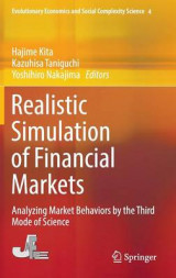 Omslag - Realistic Simulation of Financial Markets 2016