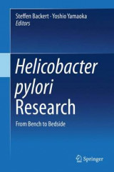 Omslag - Helicobacter Pylori Research 2016