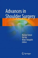 Omslag - Advances in Shoulder Surgery 2016