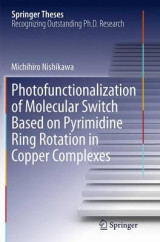 Omslag - Photofunctionalization of Molecular Switch Based on Pyrimidine Ring Rotation in Copper Complexes