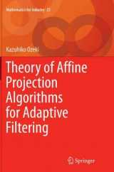 Omslag - Theory of Affine Projection Algorithms for Adaptive Filtering