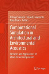 Omslag - Computational Simulation in Architectural and Environmental Acoustics
