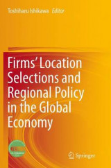 Omslag - Firms' Location Selections and Regional Policy in the Global Economy