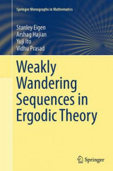 Omslag - Weakly Wandering Sequences in Ergodic Theory