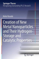 Omslag - Creation of New Metal Nanoparticles and Their Hydrogen-Storage and Catalytic Properties