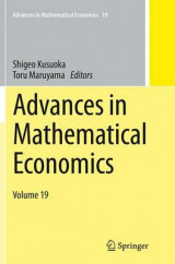 Omslag - Advances in Mathematical Economics
