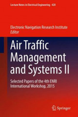 Omslag - Air Traffic Management and Systems II 2017: II