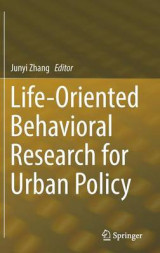 Omslag - Life-Oriented Behavioral Research for Urban Policy 2017
