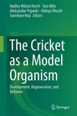 Omslag - The Cricket as a Model Organism 2017