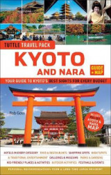 Omslag - Kyoto and Nara Tuttle Travel Pack Guide + Map