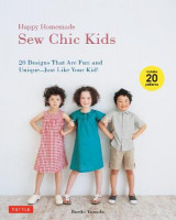 Omslag - Happy Homemade: Sew Chic Kids