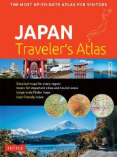 Japan Traveler's Atlas (Heftet)