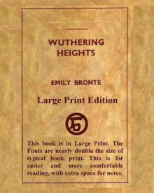 Wuthering Heights Emily Bronte - Large Print Edition av Emily Bronte (Heftet)