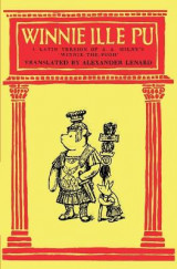 Omslag - Winnie Ille Pu a Latin Translation of A. A. Milne's