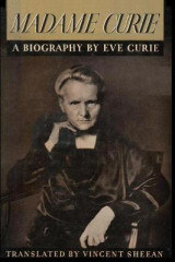 Omslag - Madame Curie a Biography of Marie Curie by Eve Curie