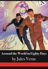 Omslag - Around the World in Eighty Days