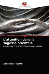 Omslag - L'attention dans la sagesse orientale