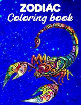 Omslag - Zodiac Coloring Book For For Adults