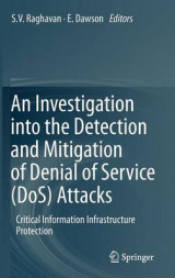 Omslag - An Investigation into the Detection and Mitigation of Denial of Service (DoS) Attacks