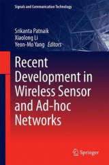 Omslag - Recent Development in Wireless Sensor and Ad-hoc Networks